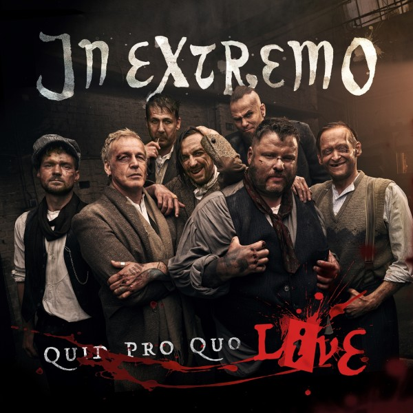 In Extremo CD Quid Pro Quo Live Digipack