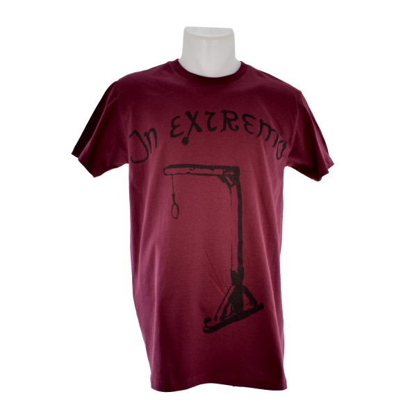 In Extremo T-Shirt Galgen bordeaux