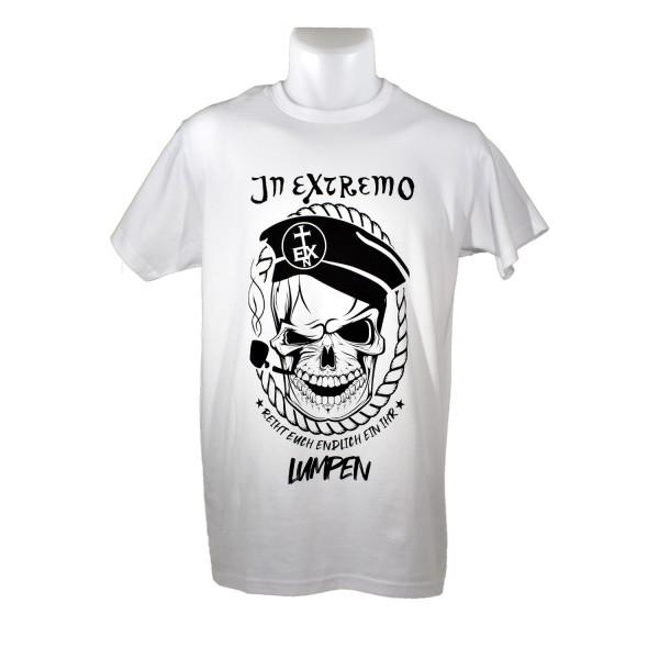 In Extremo T-Shirt Ihr Lumpen weiss