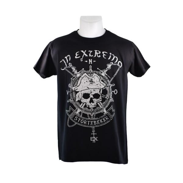 In Extremo T-Shirt Störtebeker grau
