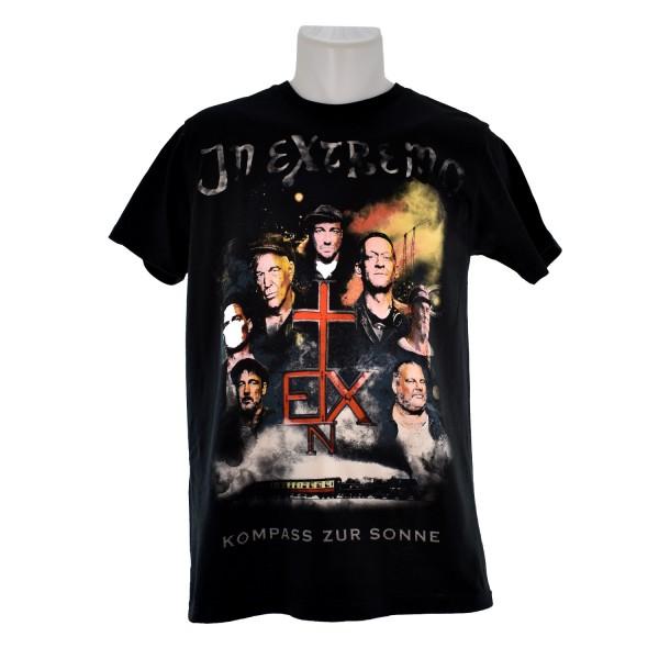 In Extremo T-Shirt Kompass zur Sonne schwarz