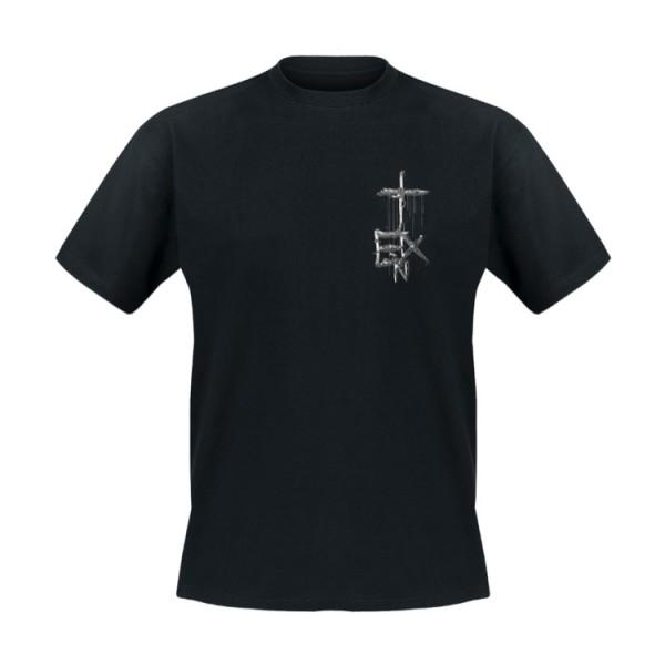 In Extremo T-Shirt Silberkreuz