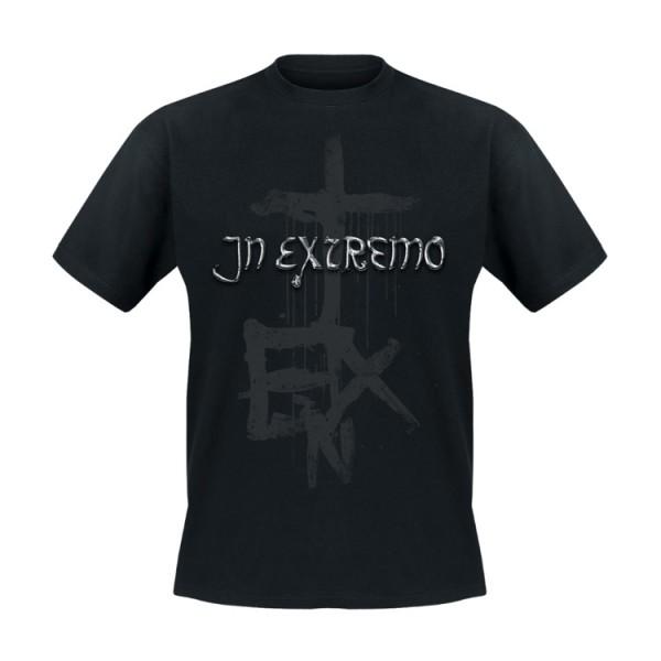 In Extremo T-Shirt Schwarzkreuz